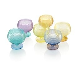 Set 6 coppette gelato bicolore Multicolor - IVV