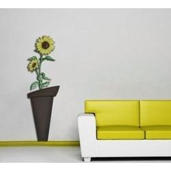 Quadri da bassa parete dal design moderno - Vaso fiore Laser Art Style