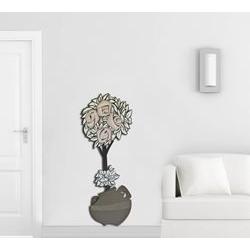 Pannelli moderni - Vaso con fiori Laser Art Style