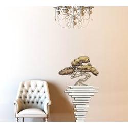 Quadri design moderni astratti - Vaso con fiori Laser Art Style