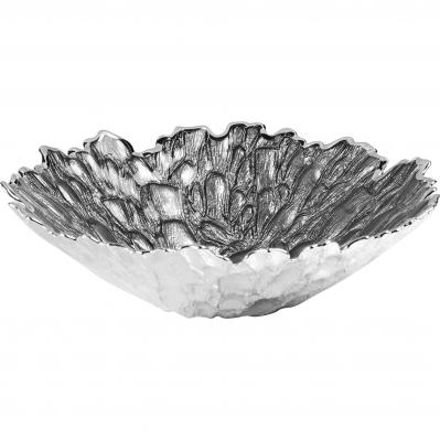 Centrotavola in vetro MOSS 30cm - GRIGIO GHIACCIO