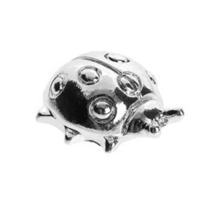 Coccinella in argento