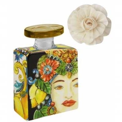 Bottiglia Mini da collezione sicilia oro Baroque&Rock - Baci Milano