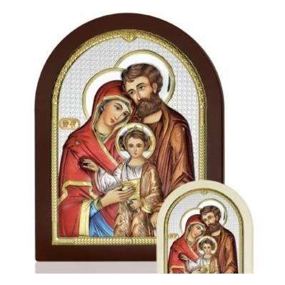 Icona Sacra Famiglia linea Icone argentata - Atelier