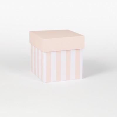 Scatolina fondo e coperchio cipria 8x8