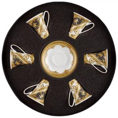 Set 6 tazze caffè I LOVE BAROQUE Rosenthal Versace I tesori del mare
