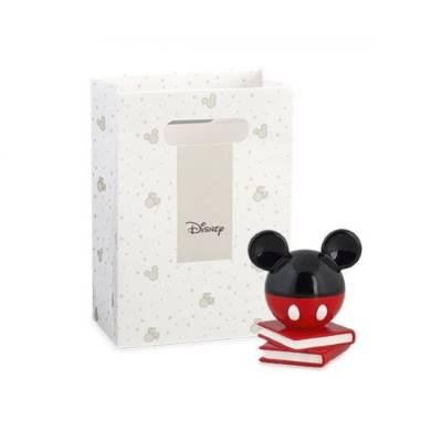 Bomboniera Disney in resina topolino rosso e nero con libri