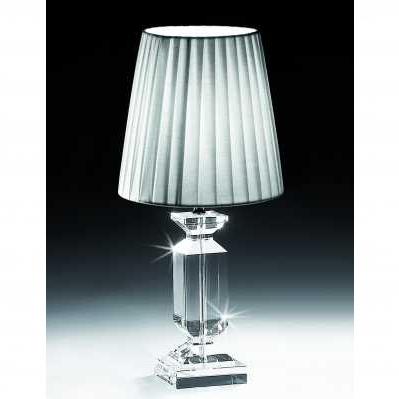 Lampada in cristallo da tavolo stile pilastro - RANOLDI