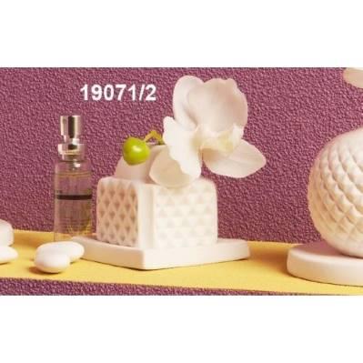 Diffusore di fragranze in porcellana con orchidea