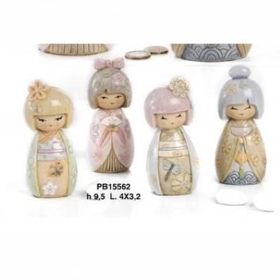 Bambolina Bimba Giapponese - Mandorle
