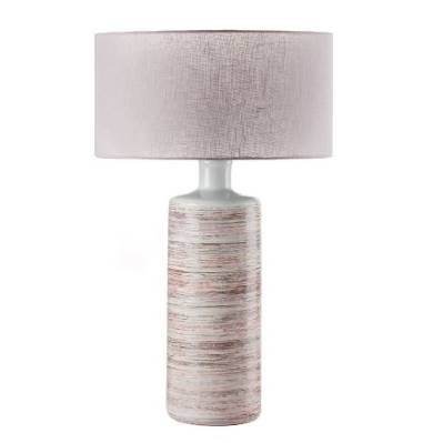 Lampada in ceramica paralume rosa - L'OCA NERA