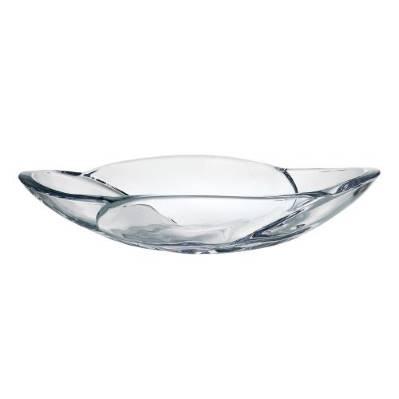 Centrotavola in cristallo Globus 33 cm