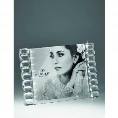 Cornice portafoto in cristallo diamante - RANOLDI
