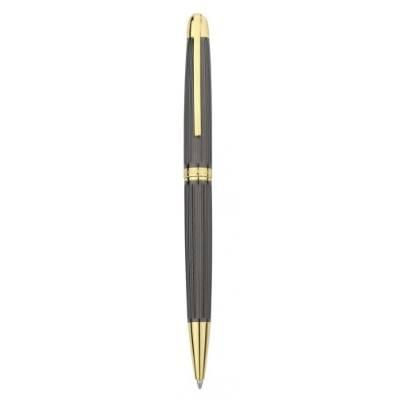 Penna a sfera canna di fucile-oro - Bagutta