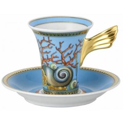 Tazza caffè LES TRESORS DE LA MER Rosenthal Versace I tesori del mare