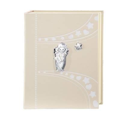 Album fotografico con angioletti e stelline - 23x30 cm