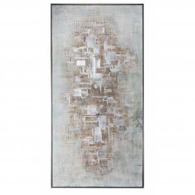Quadro acrilico su tela 70x140 con cornice - L'Oca Nera
