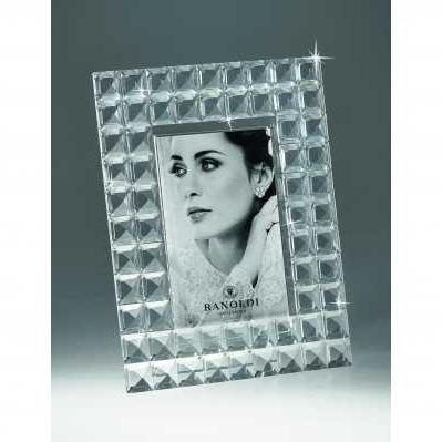 Cornice portafoto in cristallo quadrato - RANOLDI