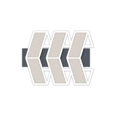Pannello taglio laser rombi tema geometrico - Laser Art Styl