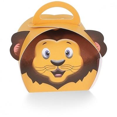 Scatola portaconfetti leone