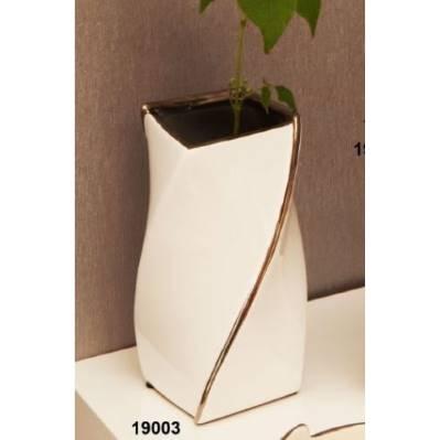 Vaso in porcellana stile vortice