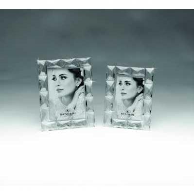 Cornice portafoto in cristallo croce - RANOLDI