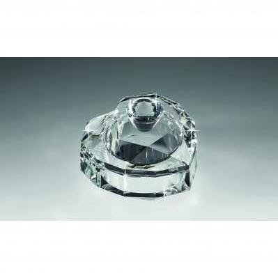 Scatolina in cristallo a forma di cuore semplice - RANOLDI