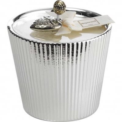 Porta candela in resina e argento - Bomboniera Argenesi