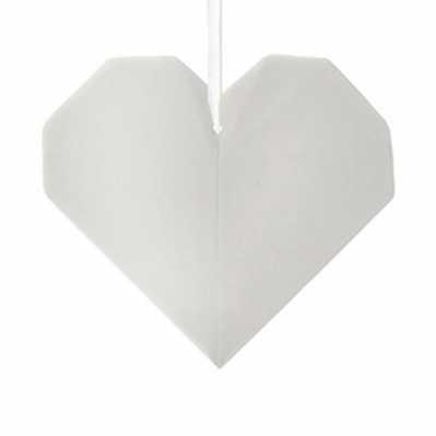 Origami cuore - porcellana