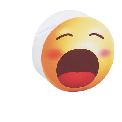 Scatolina portaconfetti cilindrica emoji sbadiglio
