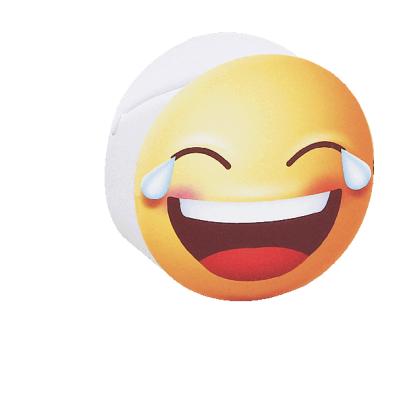 Scatolina portaconfetti cilindrica emoji sorridente