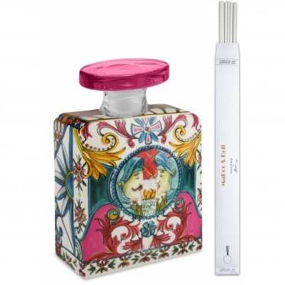 Bottiglia Magnum da collezione sicilia rosa Baroque&Rock - Baci Milano