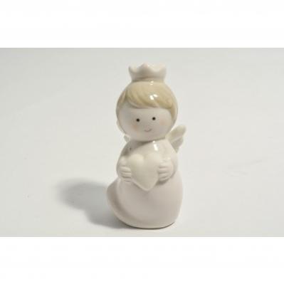 Angelo rosa in ceramica - Collezione 2020
