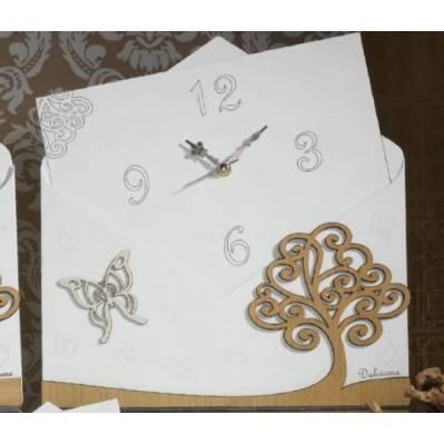 Orologio con Albero della Vita in legno - Rosita