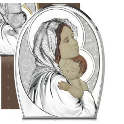 Capezzale Madonna Ferruzzi linea Sacri argentato - Atelier