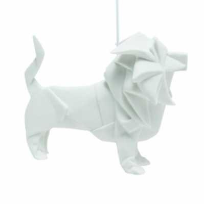 Origami leone - porcellana