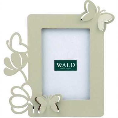 Portafoto farfalle metallo traforato - Collezione WALD