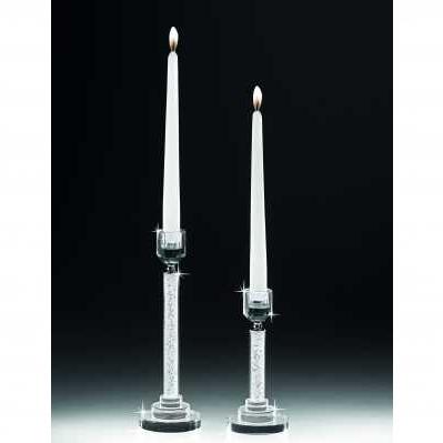 Candeliere cilindro in cristallo - RANOLDI