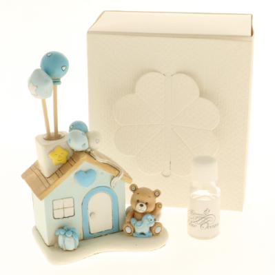 Diffusore casetta con orsetto e palloncini