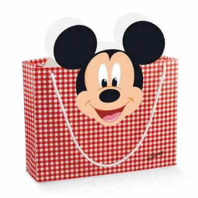 Shopper box Disney Mickey's Party Rosso Grande