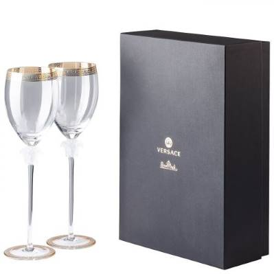 Set 2 Calici Acqua MEDUSA D'OR Rosenthal Versace