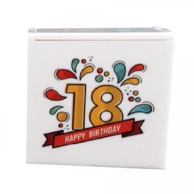 Scatolina per confetti 18 anni