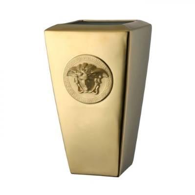 Vaso MEDUSA GOLD 32 cm Rosenthal Versace