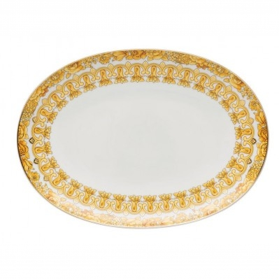 Versace Medusa Rhapsody Piatto Ovale 33 cm