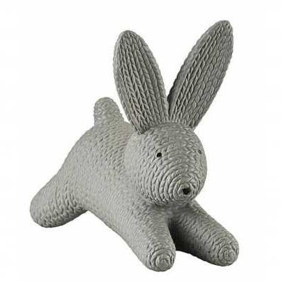 Rosenthal - Coniglio grande grigio sdraiato in porcellana - RABBITS