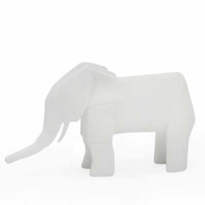 Origami elefante - porcellana