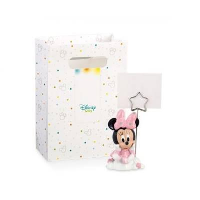 Bomboniera Disney in resina Minnie rosa segnaposto