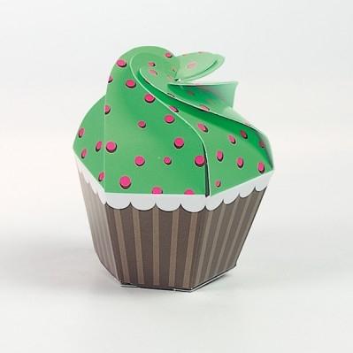 Cupcake fluo verde/fuxia