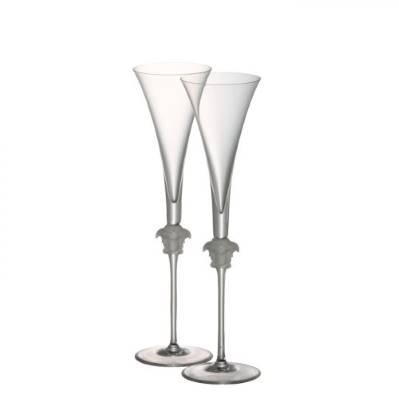 Set 2 Calici Flute MEDUSA LUMIERE Rosenthal Versace