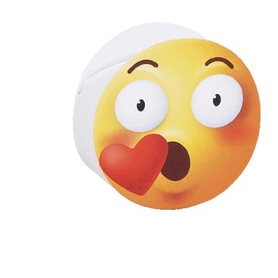 Scatolina portaconfetti cilindrica emoji smac